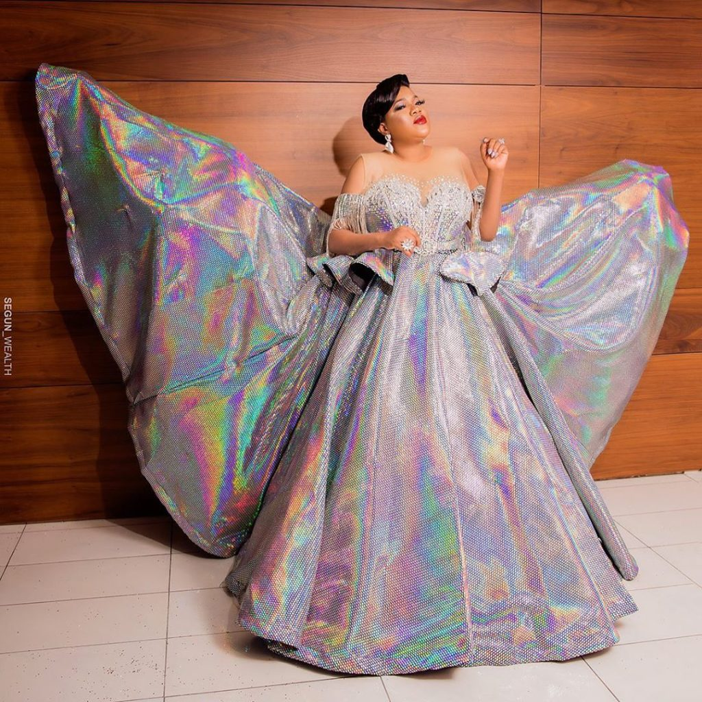 AMVCAs: Actress Toyin Abraham Gives Husband Lap Dance At After Party [VIDEO