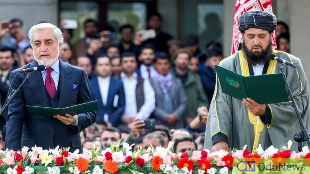 Two 'Presidents' Take Oath Of Office In Afghanistan