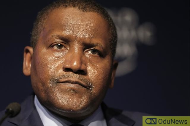 Coronavirus: Dangote Records Over N240bn Loss In Five Hours