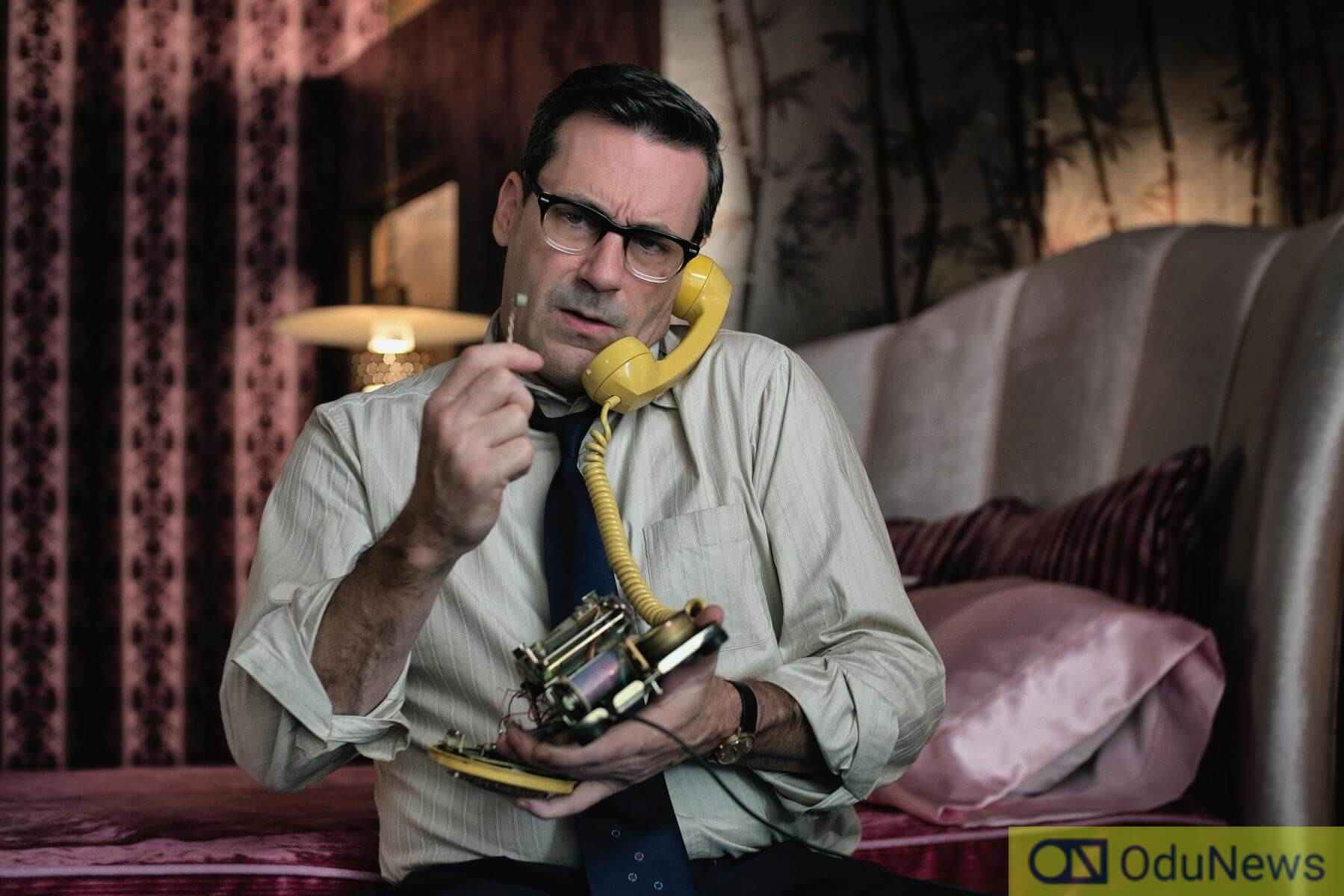 Hamm in BAD TIMES AT THE EL ROYALE film