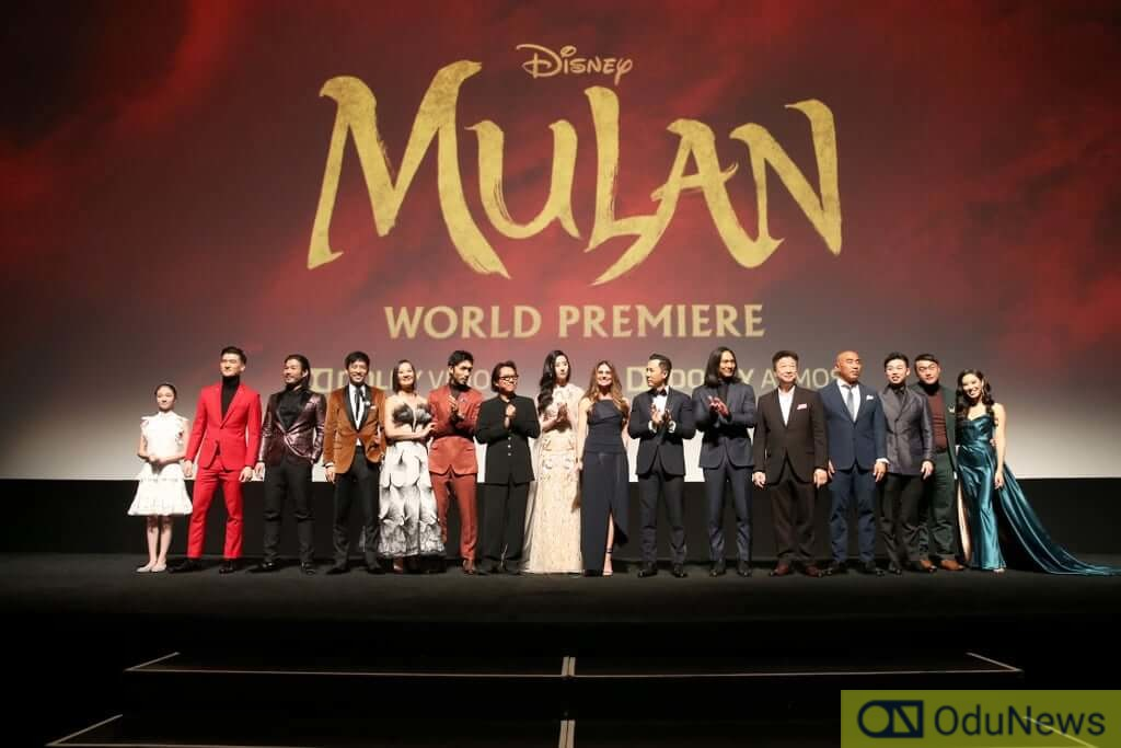 The Cast of MULAN