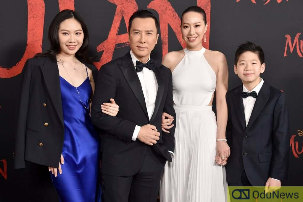 Cissy Yang and Donnie, Jasmine, and James Yen