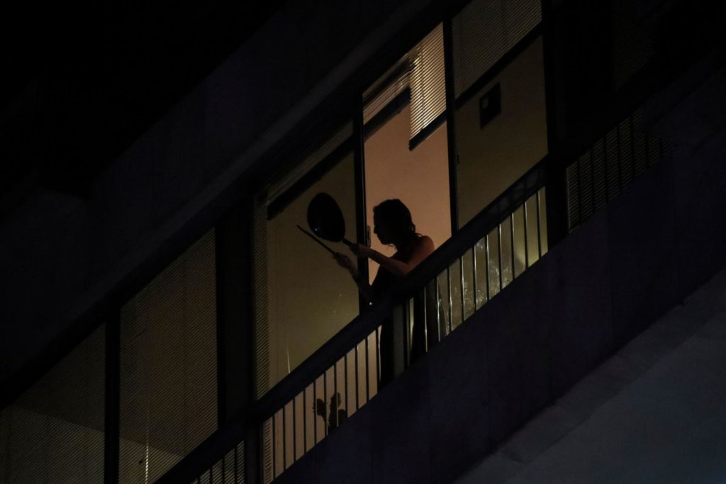 Brazilians Bang Pots From Balconies To Protest Against President's Handling Of Coronavirus[VIDEO]