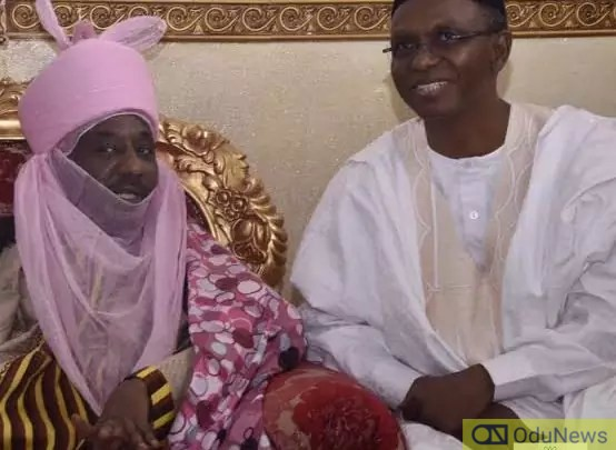 Dethroned Emir, Sanusi Travels Out Of Nasarawa With El-Rufai