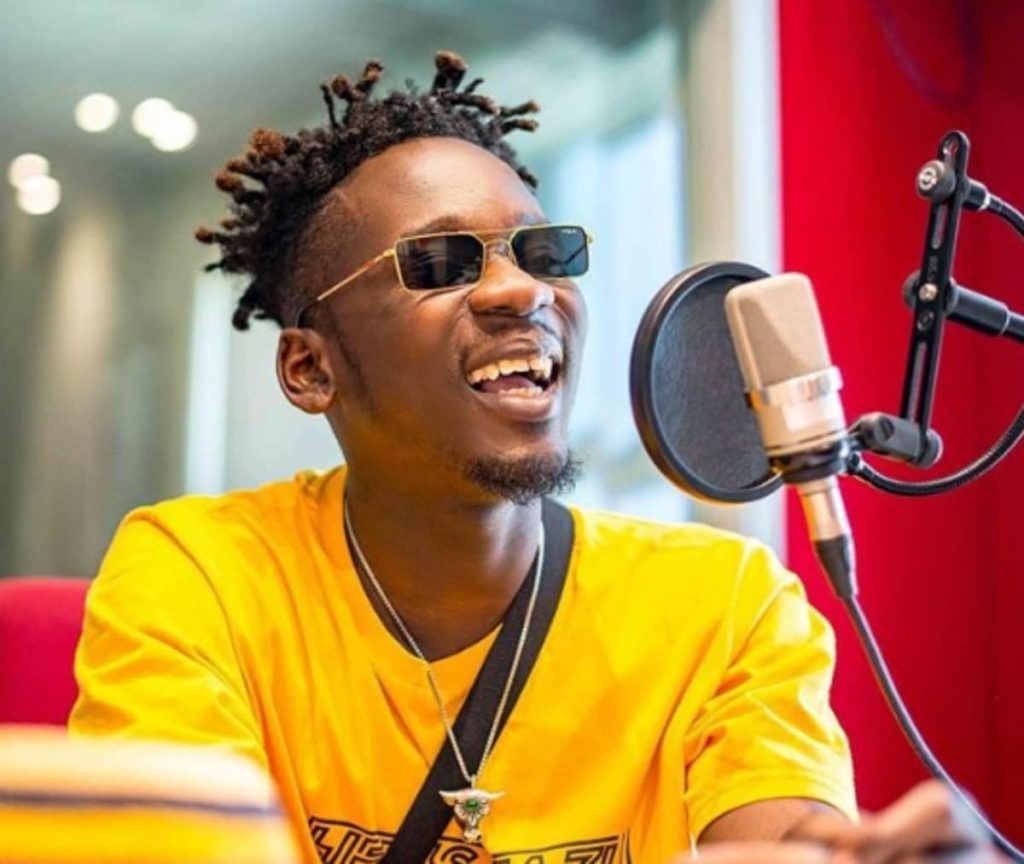 Fear grips Mr Eazi over Coronavirus