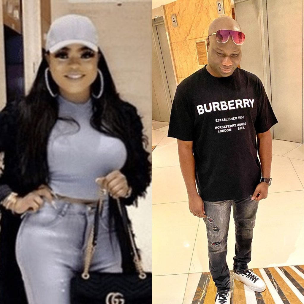 New Video Hints That Bobrisky & Mompha Could Be More Than Just Friends