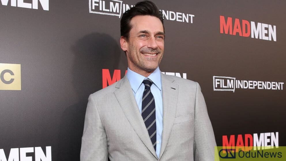 Jon Hamm rose to fame after featuring in the TV series MAD MEN