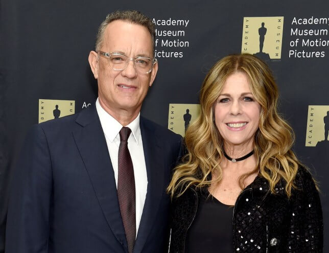Tom Hanks and his wife Rita Wilson are feeling better now/Photo Credit: Getty Images