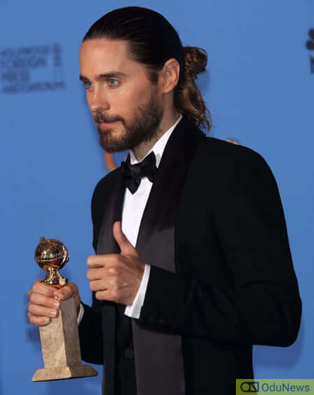 Jared Leto says rock climbing is one of his hobbies