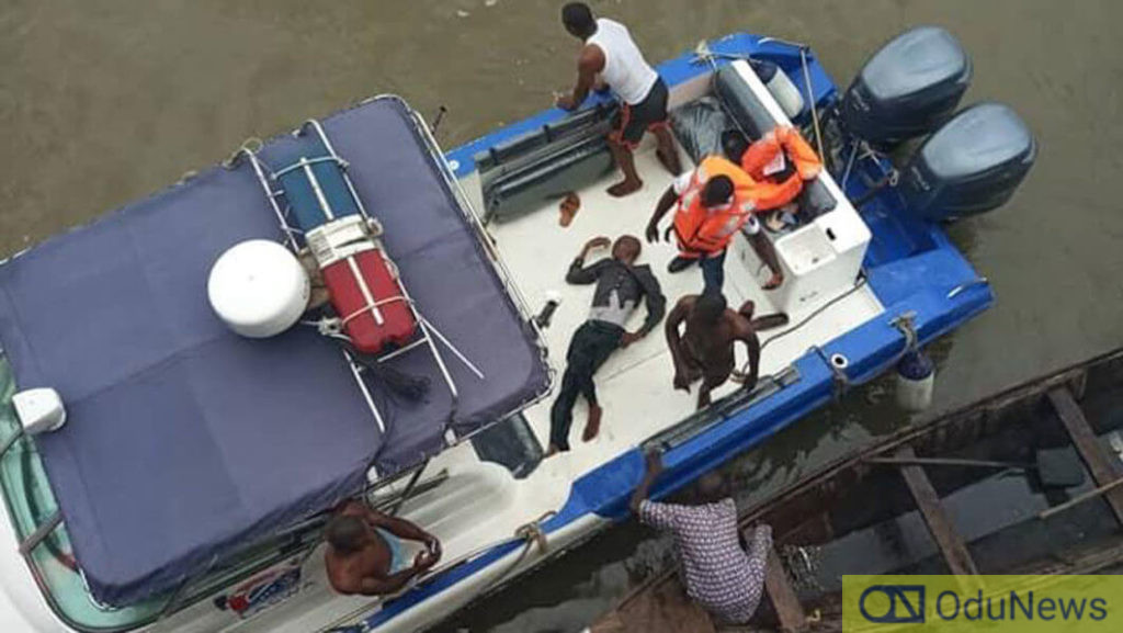 This isn't the first time persons have attempted jumping into the Lagos lagoon
