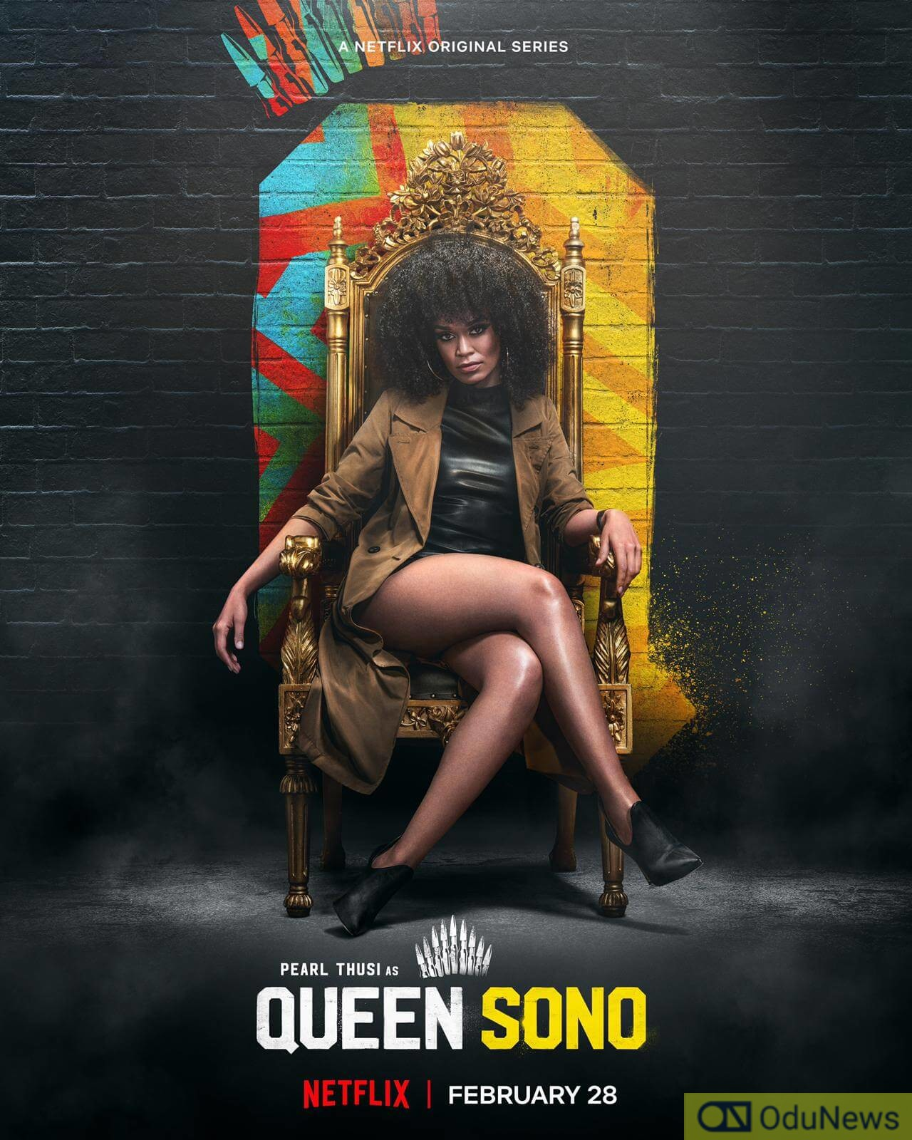QUEEN SONO doesn't go beyond its expected entertainment value