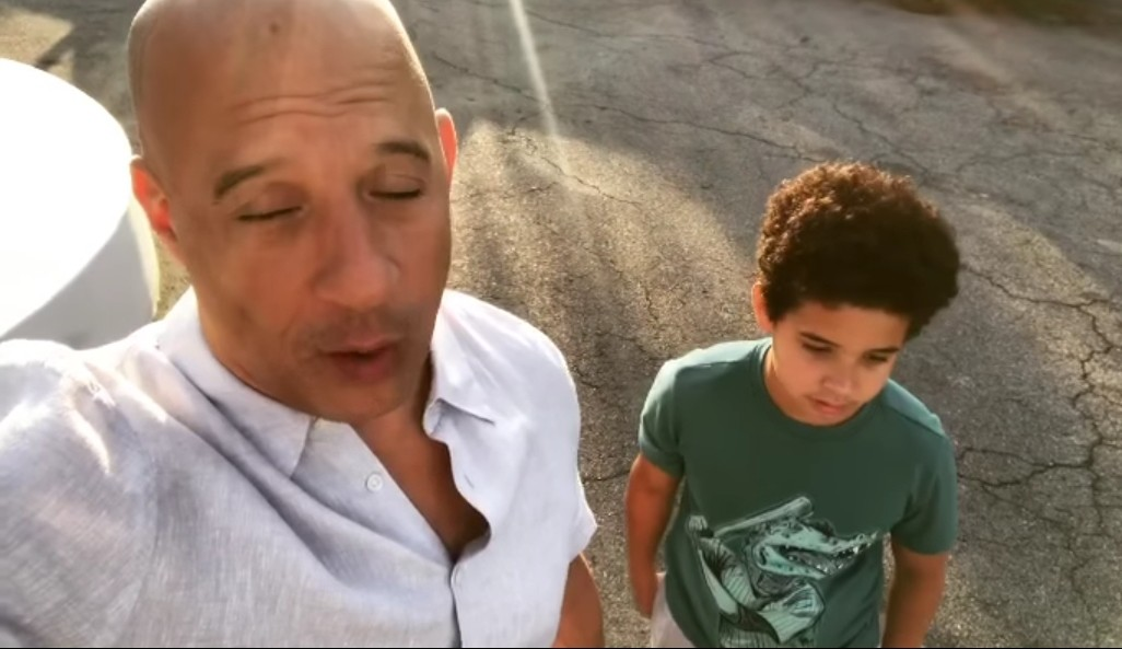 COVID-19: Vin Diesel And His Son Share Motivational Message