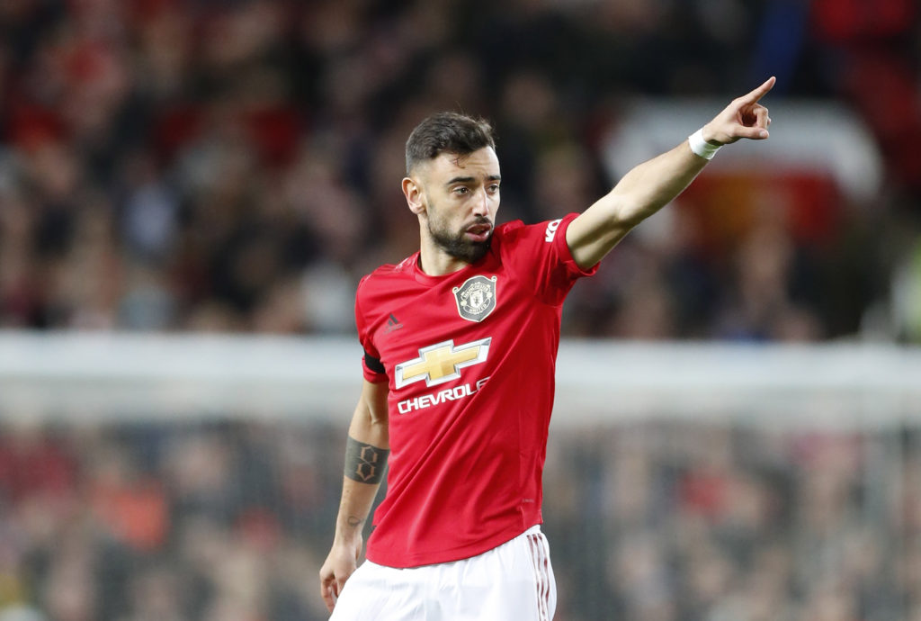 Bruno Fernandes Wins Premier League Player Of The Month