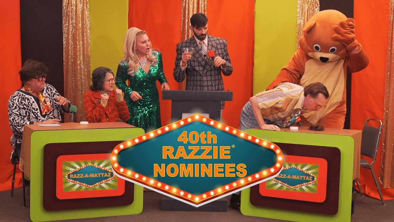 The Razzies honor the worst performing films of the year