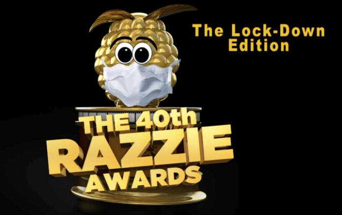 The 2020 Razzies was streamed on YouTube