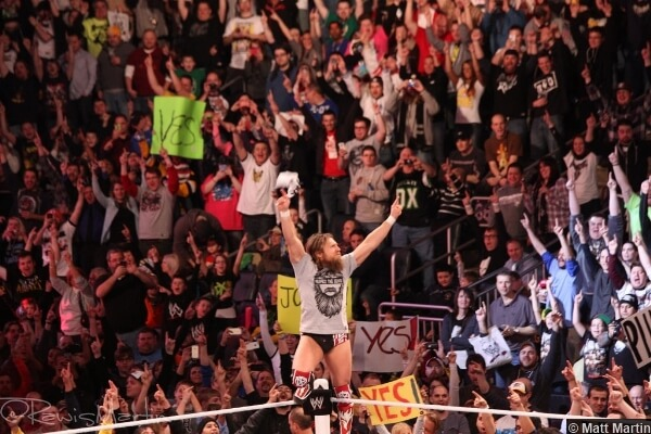 WWE fans are the ones who keep the atmosphere charged