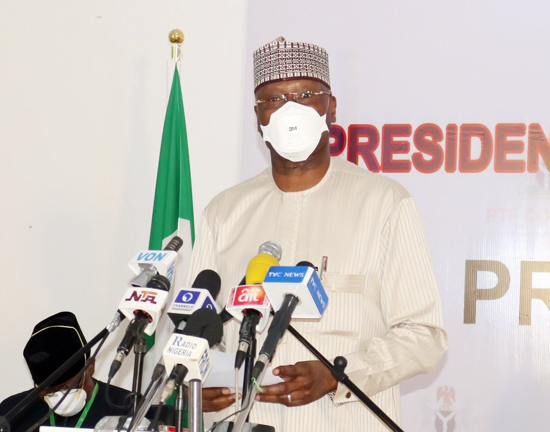 Secretary to the Federal Government of Nigeria, Boss Mustapha