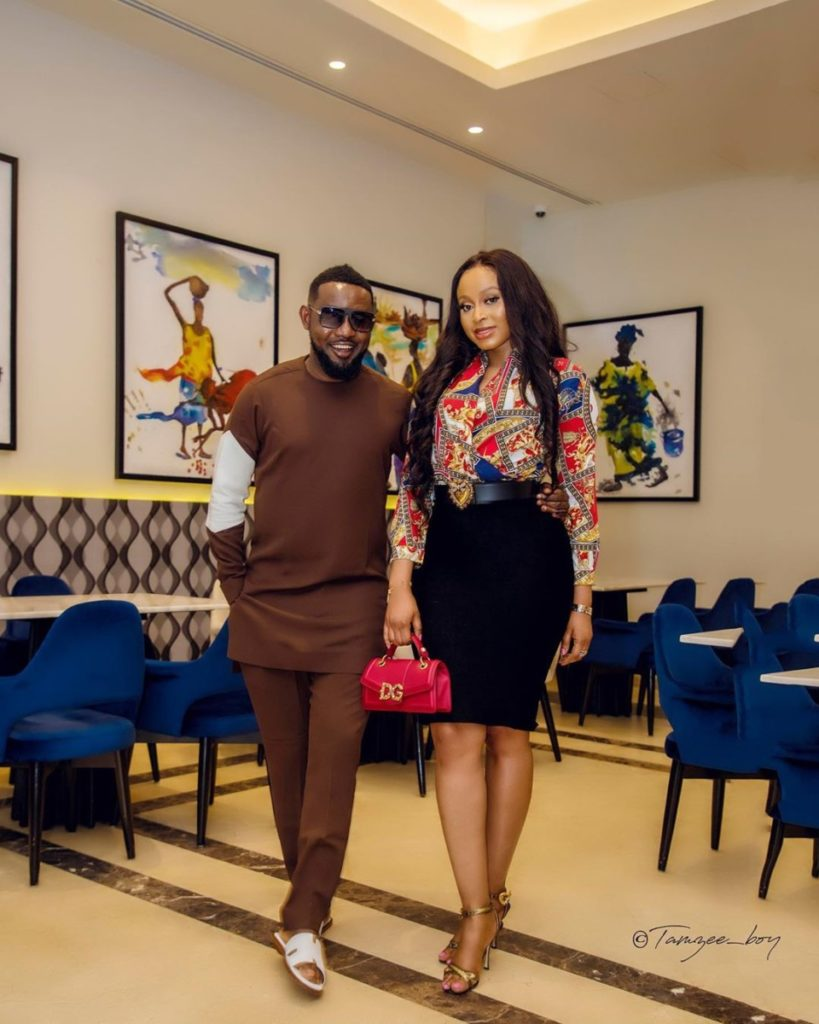 Comedian AY (Ayo Makun) and wife, Mabel Makun