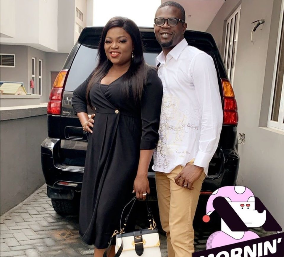 Funke Akindele and husband JJC Skillz appear in Court