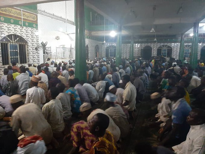 Agege Central Mosque holds prayers despite Lagos state warnings