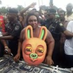 Female Gang leader of armed robbery in Nigeria