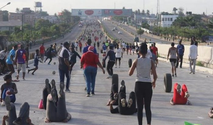 People jogging in Lagos arrested and sentenced