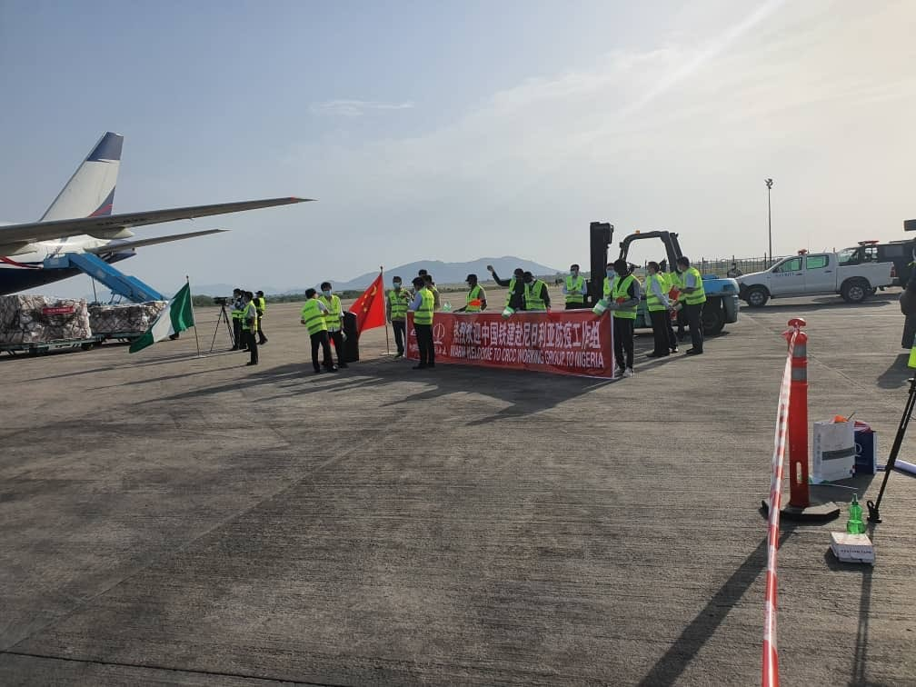 COVID-19: 15 Chinese Doctors Lands In Nigeria
