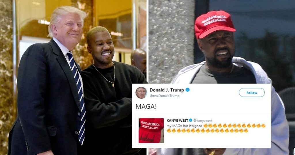 Kanye West proclaims support for Donald Trump