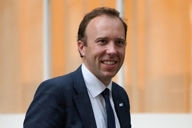 Matt Hancock, UK Health Minister says 100,000 COVID-19 tests will be carried out in a day