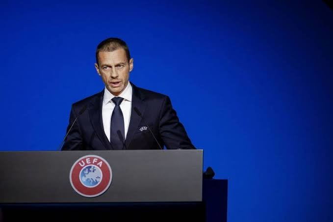 UEFA President Aleksander Ceferin says returning to action would lead to avoiding losses