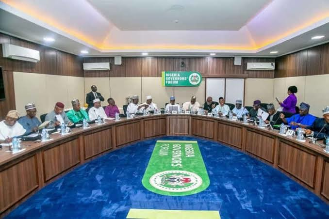 Governors at the NGF meeting