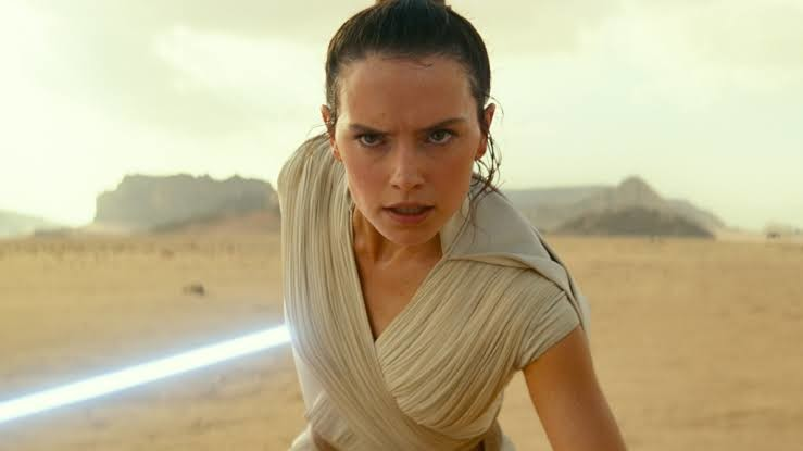 Ridley as Rey in STAR WARS