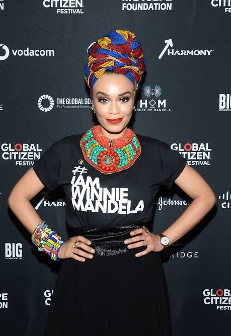 Pearl Thusi stars as the series protagonist