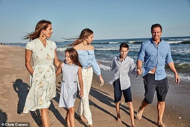 Cuomo and his family