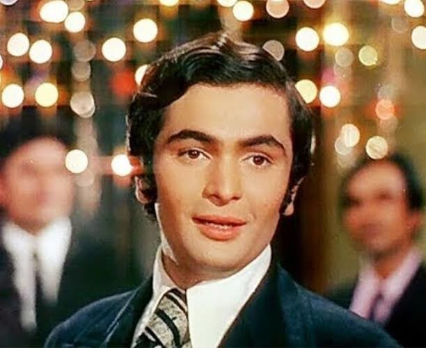 Kapoor as a young actor