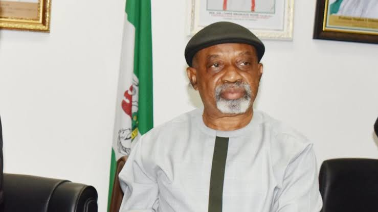 Minister of Labour and Employment Dr. Chris Ngige