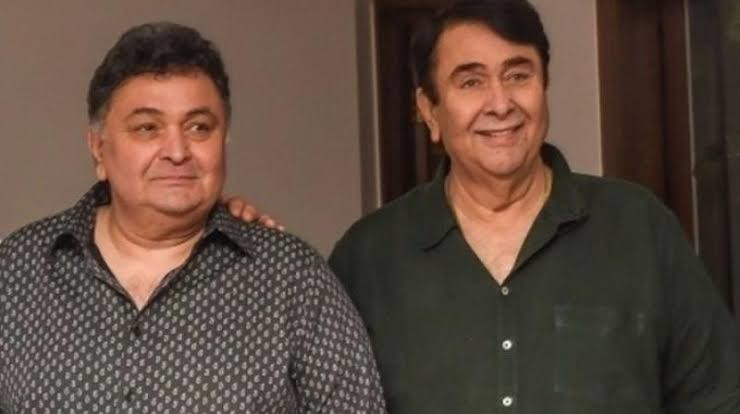 Kapoor and his brother Randhir