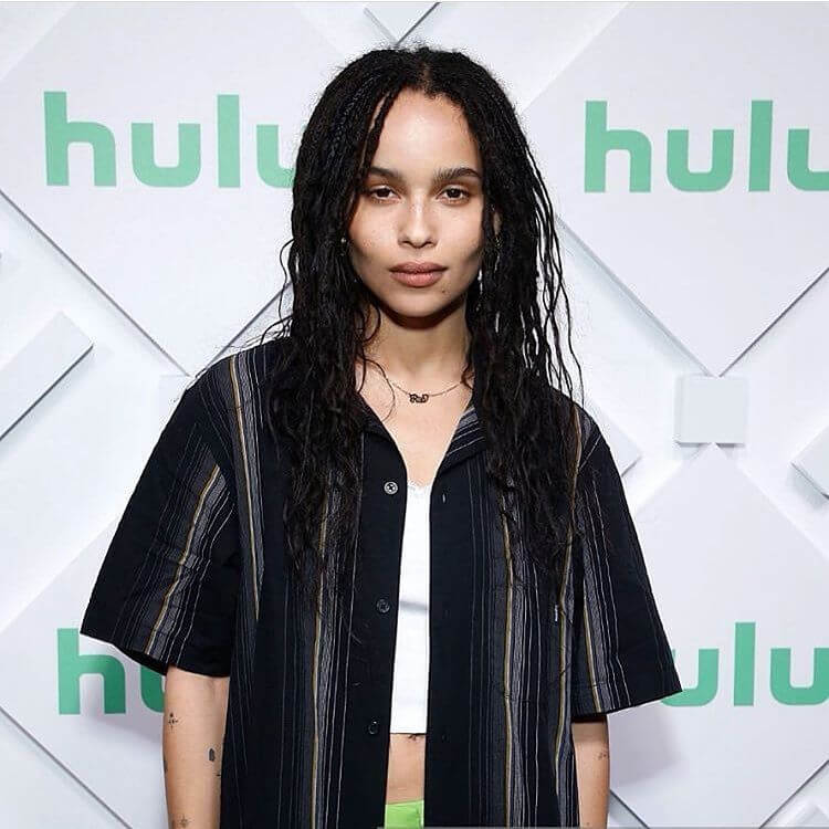 Zoe Kravitz plays Catwoman in THE BATMAN