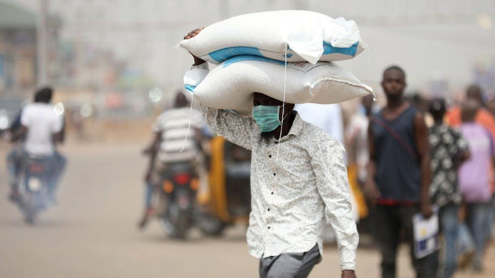 Many Nigerians have faced ravaging hunger since the COVID-19 lockdown enforced in many regions