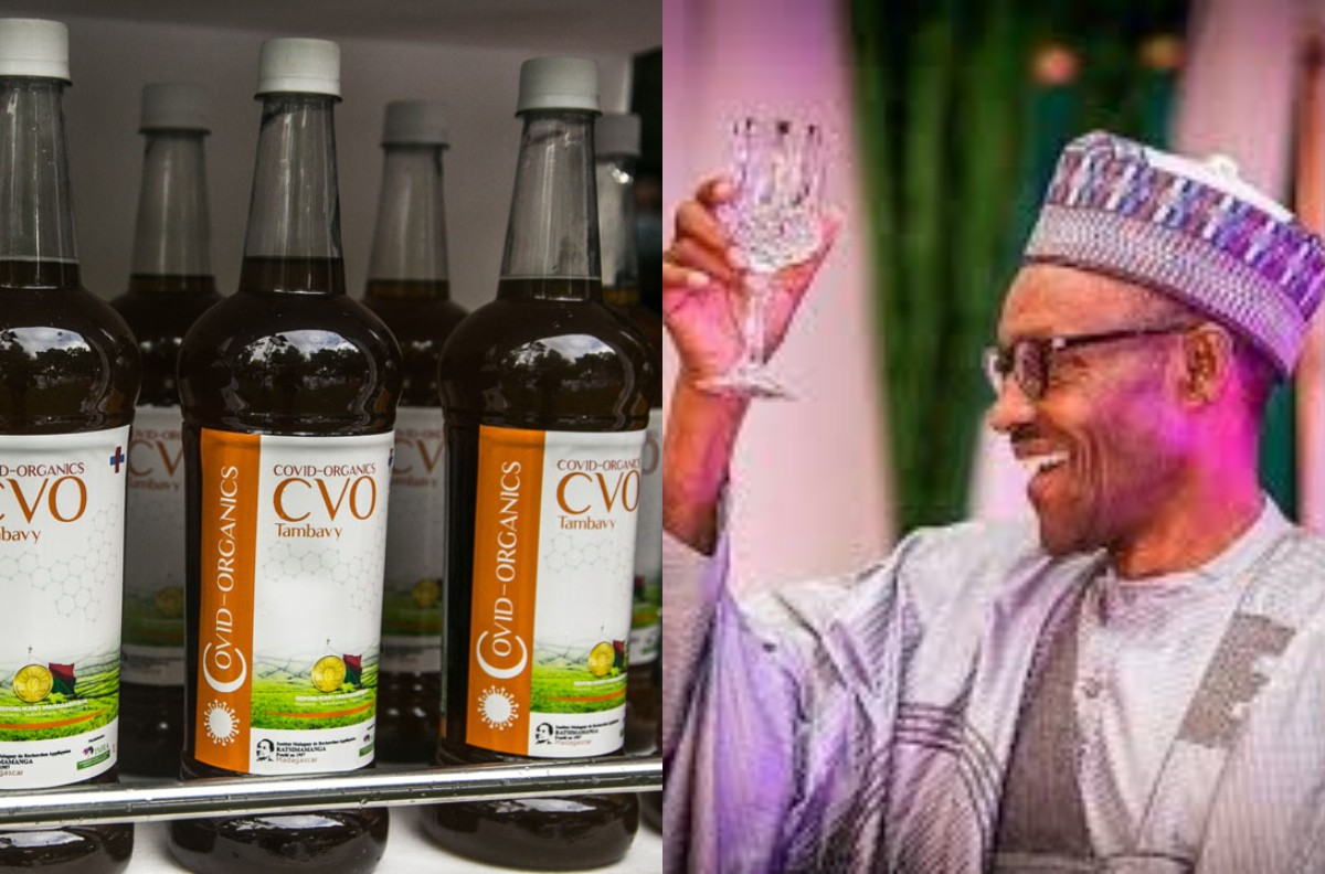 COVID-19: Buhari Receives Herbal Cure From Madagascar