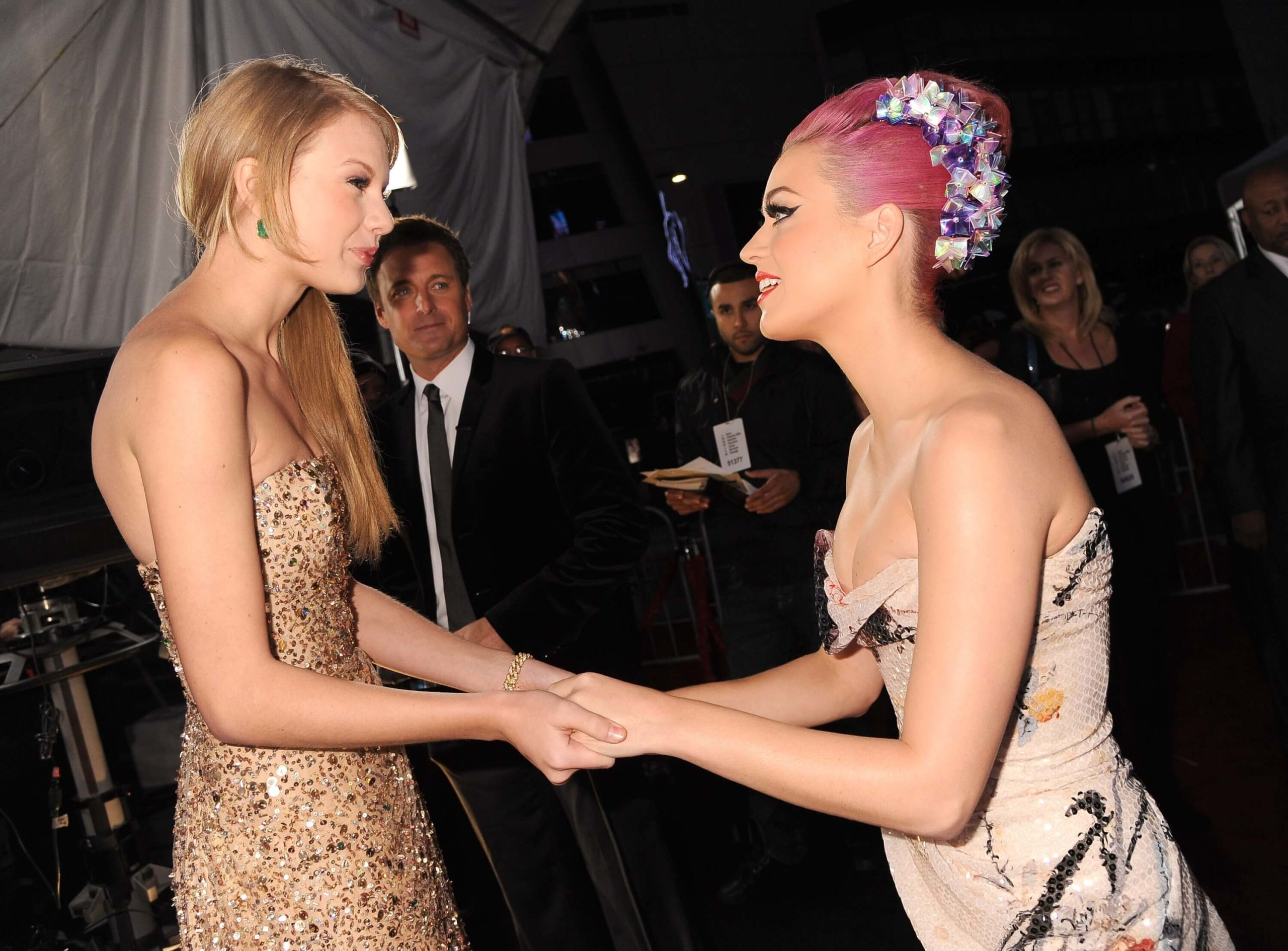 Taylor and Katy/Image Credit: Getty Images