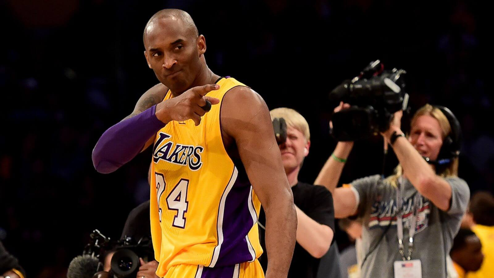 Kobe Bryant will be honored alongside others at the event/Photo Credit: Getty Images