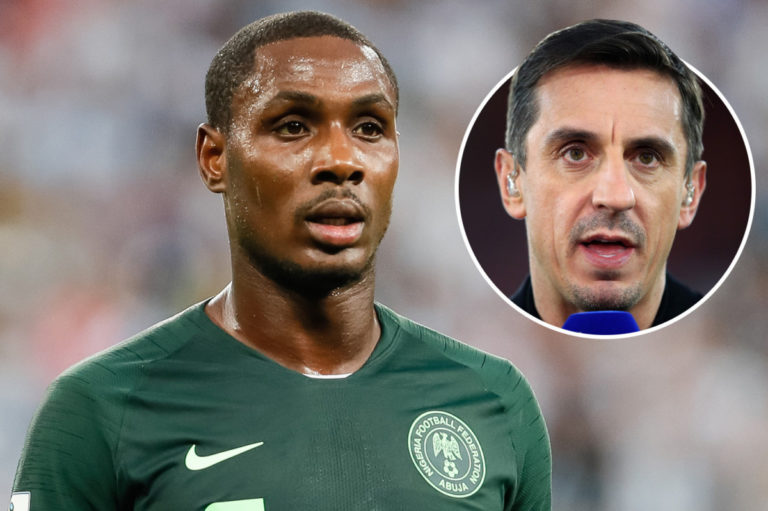 Ighalo Not Worth $20m - Garry Neville