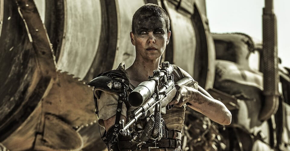 Charlize Theron captured a lot of fans with her impressive performance as Furiosa in MAD MAX: FURY ROAD