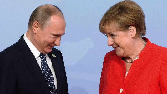 Angela Merkel: 'Hard Evidence' I Was Target Of Russian Hackers