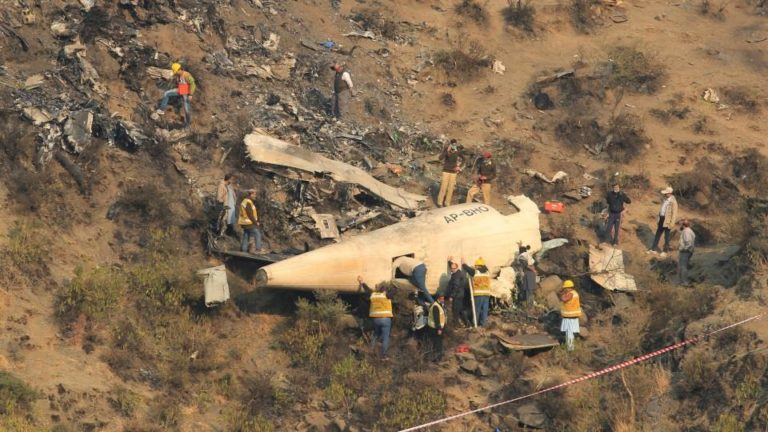 Pakistani Plane With Over 90 Passengers On Board Crashes Near Airport