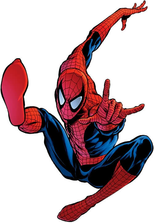 Spider-Man is a superhero who gets his amazing abilities after being bitten by a spider