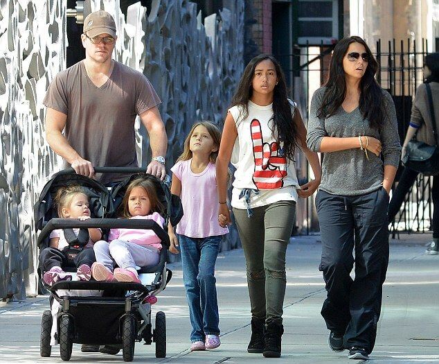 Damon and his family