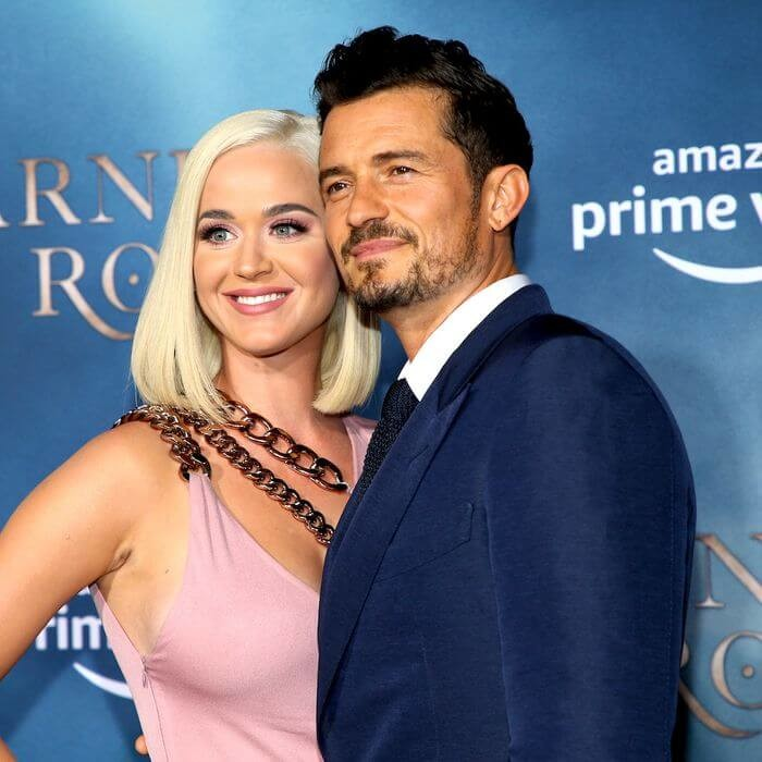 Katy Perry and fiance Orlando Bloom