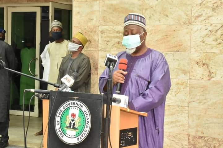Jigawa May Record 20,000 COVID-19 Cases - Governor Badaru